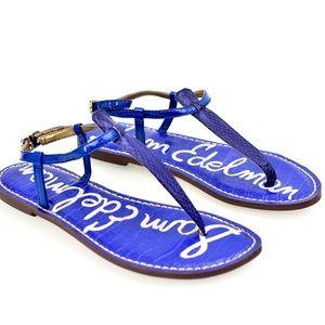 EUC Sam Edelman Thong Sandal, Blue